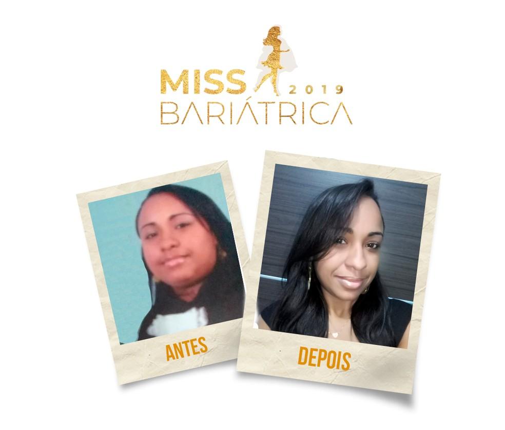 Cinthia Carvalho, 38 anos, candidata do Miss Bariátrica  — Foto: Divulgação