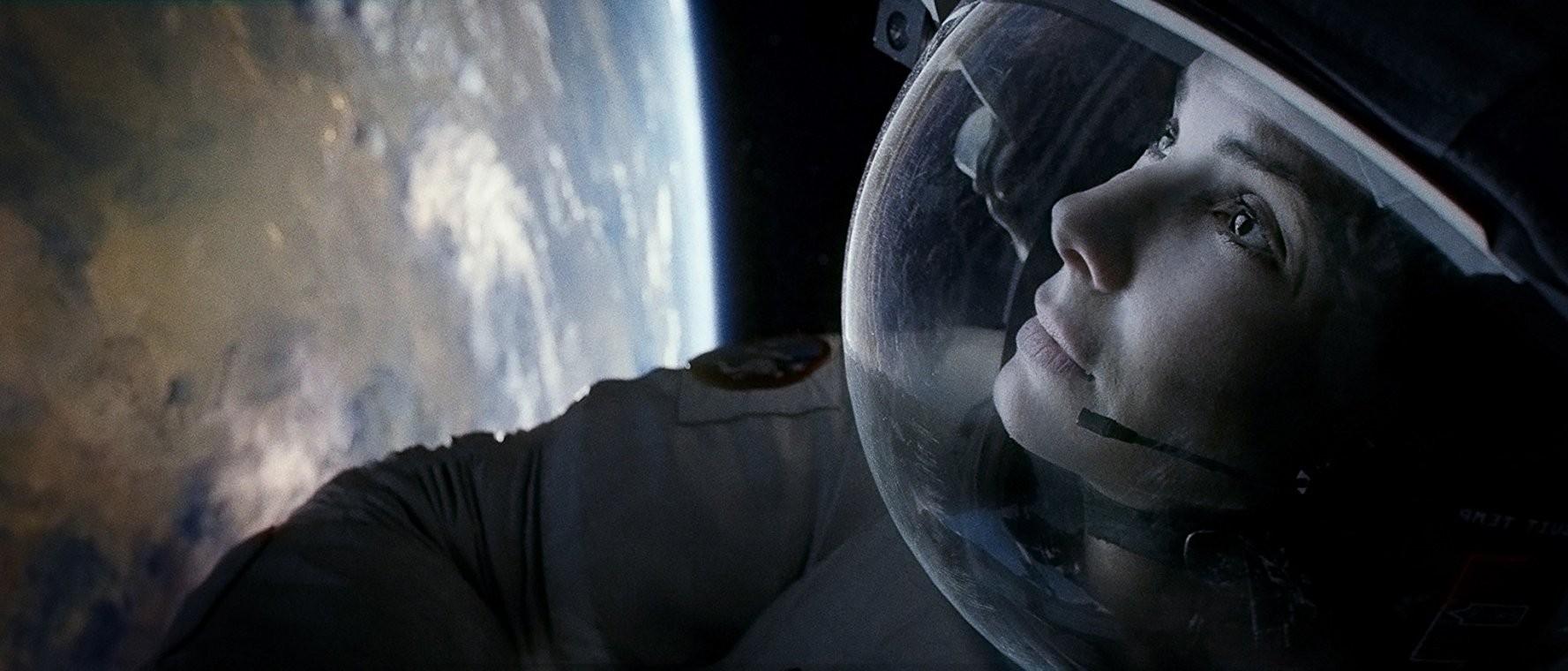 """Sandra Bullock em """"Gravidade"""" (2013) (Foto: Warner Bros. Entertainment Inc./Divulgação)"""