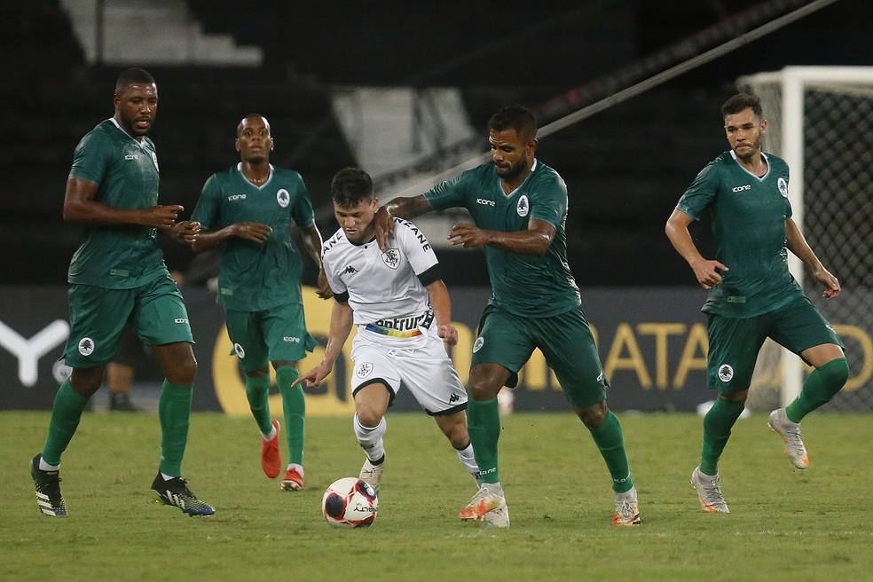 Ronald fez a estreia pelo Botafogo — Foto: Vitor Silva/Botafogo