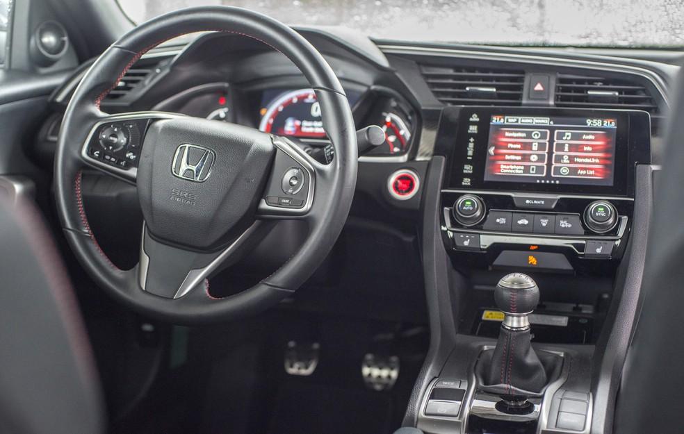 Honda Civic Si Coupé (Foto: Pedro Gomes/Divulgação)