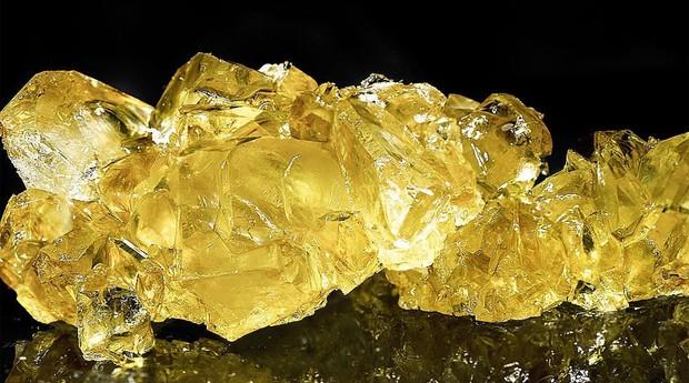 Haxixe produzido pela BAMF Extractions: mais caro que o ouro (Foto: Reprodução/Instagram)