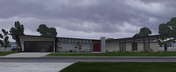 A arquitetura em 'Os Incríveis 2' (Foto: Divulgação)