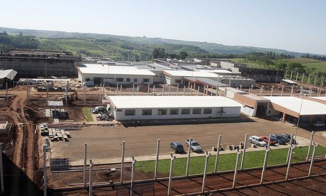 Penitenciária Federal de Catanduvas, no Paraná, o presídio mantido pelo governo federal
