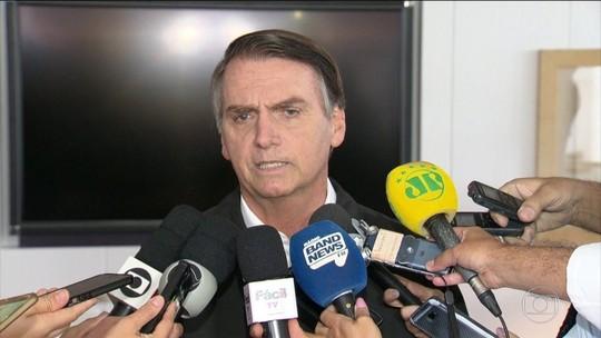 Bolsonaro diz que, se eleito, nomes para chefiar ministérios seguirão critérios técnicos