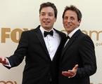 Jimmy Fallon e Seth Meyers | AP