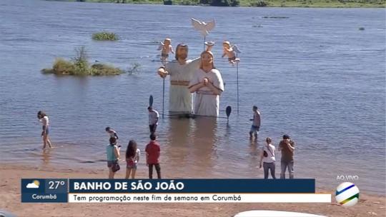 Arraial do Banho de São João tem concurso de andores em Corumbá
