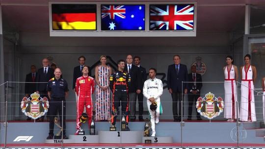 Daniel Ricciardo vence pela primeira vez no GP de Mônaco