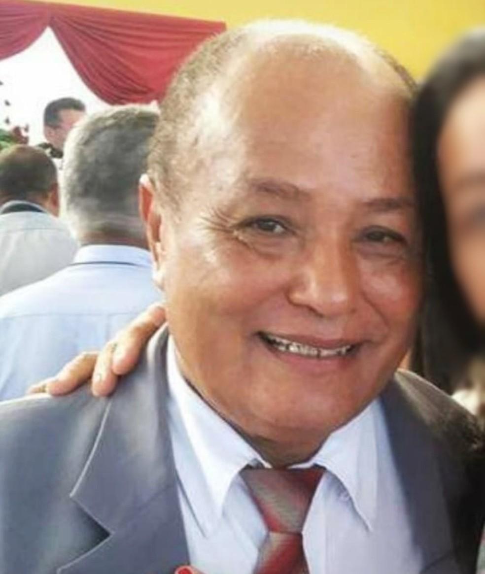 José Honorato Filho tinha 70 anos — Foto: Arquivo da família