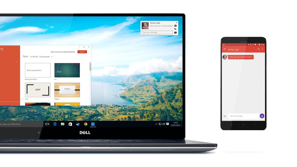 Dell Mobile Connect: app integra celular e computador (Foto: Divulgação/Dell)