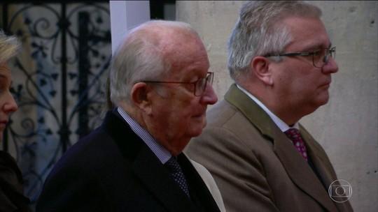 Rei aposentado da Bélgica Alberto II aceita fazer teste de paternidade