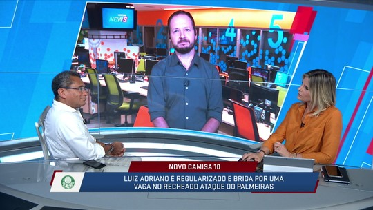 Comentaristas debatem opções de Felipão para o ataque do Palmeiras