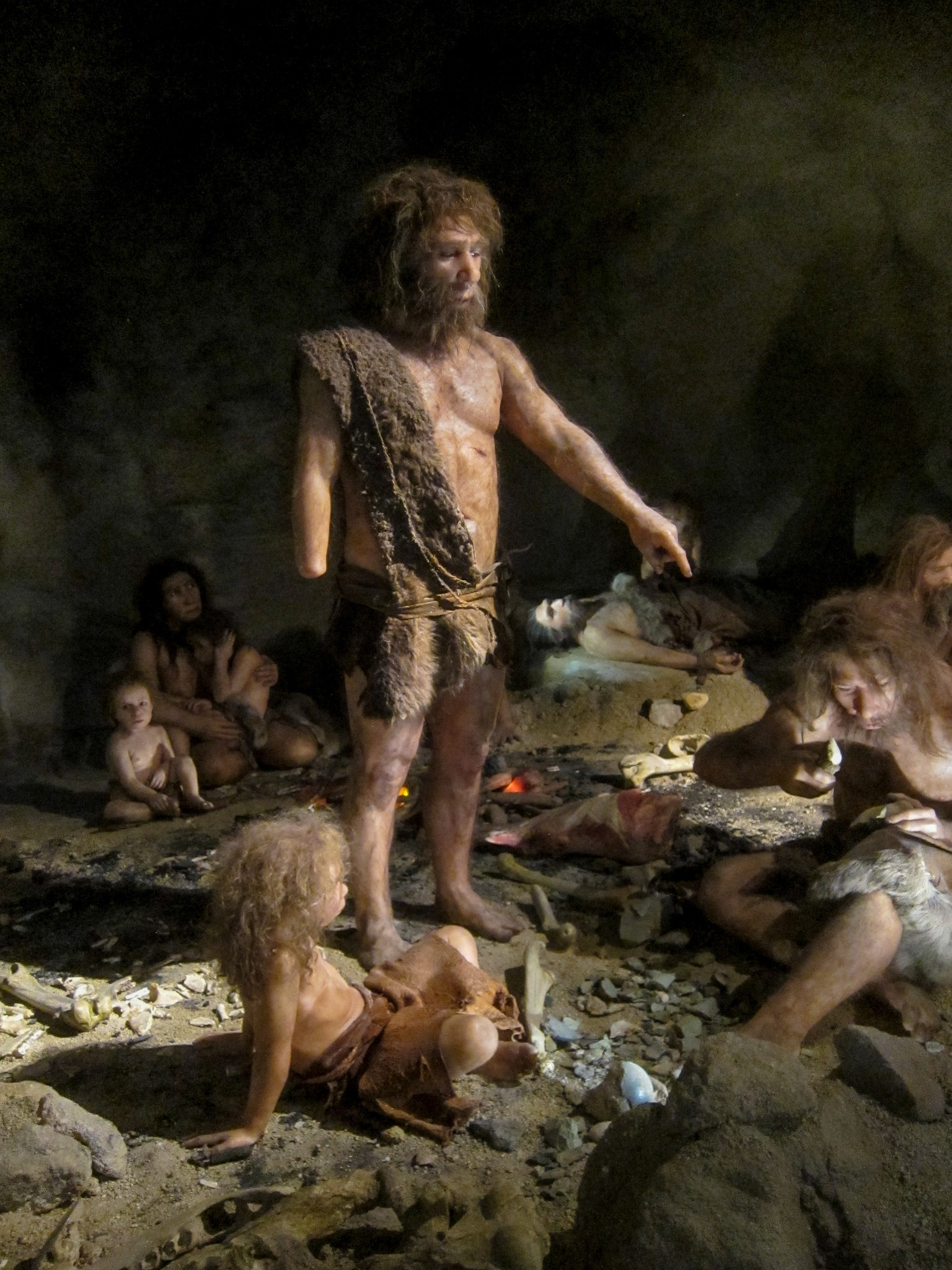 neandertais (Foto: Flickr/Michael McCullough)
