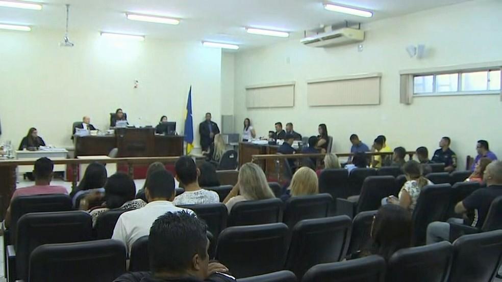 Seis réus, acusados de envolvimento no assassinato de Chico Pernambuco, já foram julgados e condenados — Foto: Rede Amazônica/Reprodução