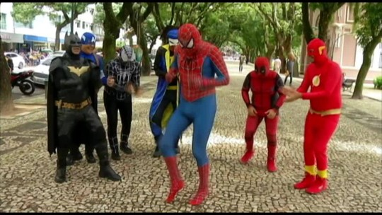 Vingadores do Brega são a atração deste sábado, 4, do É do Pará