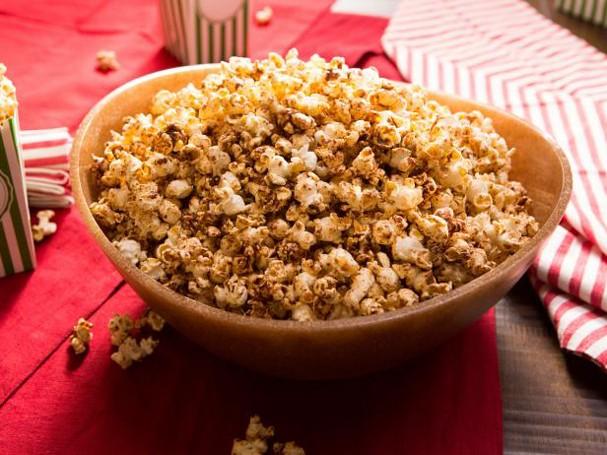 Pipoca doce e picante (Foto: Divulgação/Food Network)