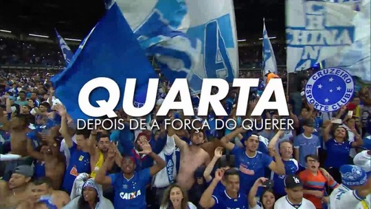 TV Globo Minas transmite Cruzeiro x Grêmio que vale vaga na grande final