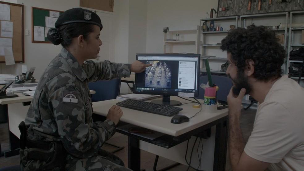 Diretor Marcelo Pedroso durante gravação do documentário. (Foto: Divulgação)