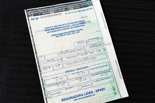 Medida Provisória interromperia as contribuições ao DPVAT já para 2020 (Foto: Ulisses Cavalcante)