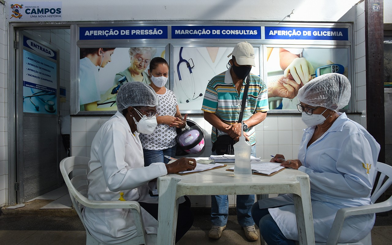 Posto de saúde é reaberto no Mercado Municipal de Campos, no RJ