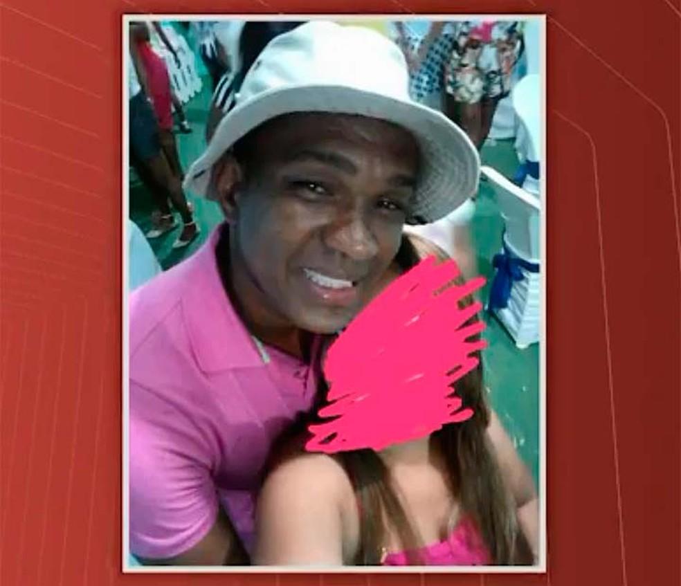 Policial Gustavo Gonzaga foi morto no dia 8 d ejunho, no bairro da Santa Cruz (Foto: Reprodução/TV Bahia)