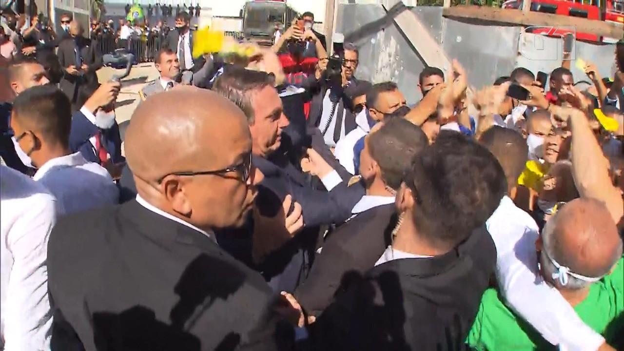 Bolsonaro visita Salvador para participar de cerimônia em igrejas evangélicas