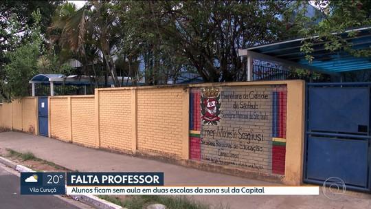 Estudantes de SP estão sem aulas por falta de professores nas escolas municipais
