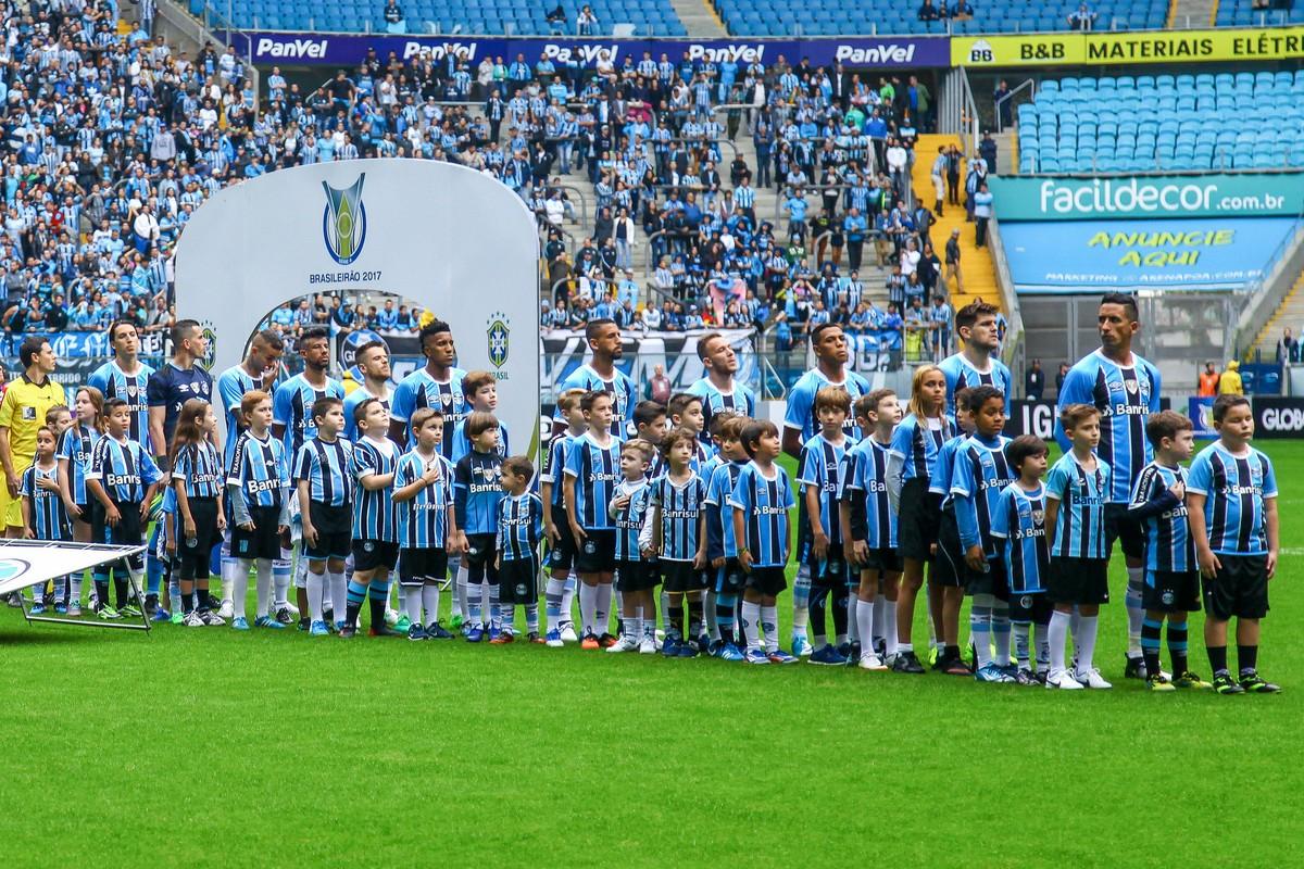 Torcida do Grêmio esgota setor para jogo com Corinthians  projeção é de 40  mil  869b76cc225b8