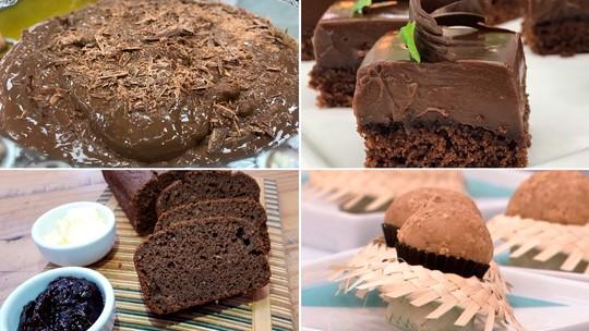 Receitas com cacau em pó: aprenda a fazer 5 sobremesas fáceis e deliciosas