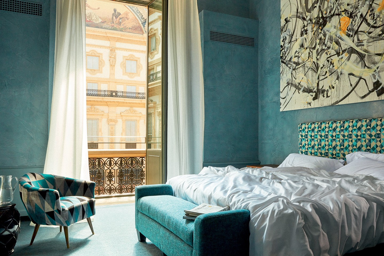 Conheça Vik Milano, o novo hotel construído dentro da Galleria Vittorio Emanuele II (Foto: Fernando Lombardi)