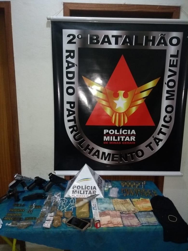 Jovem é detido suspeito de tráfico de drogas e porte ilegal de armas em Juiz de Fora - Notícias - Plantão Diário