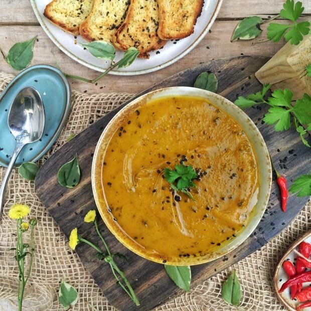 Sopa vegetariana: 4 opções para os dias frios  (Foto: Reprodução)