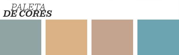 Décor do dia: sala de jantar colorida com piso marmorite (Foto: Reprodução)