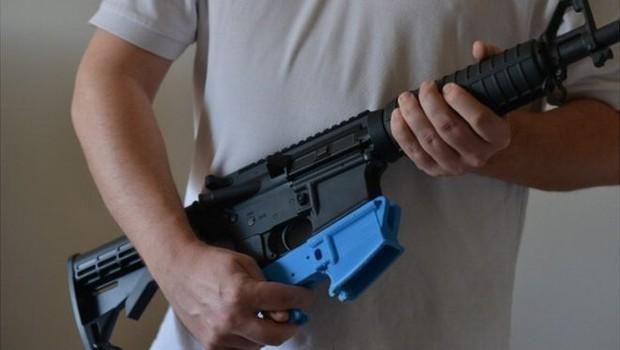 Avanços na tecnologia de impressão 3D possibilitaram a produção de peças de armas usando um esquema simples (Foto: Getty Images via BBC)