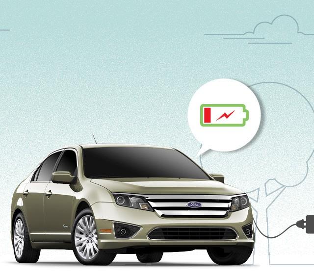 Ford Fusion Hybrid 2011 (Foto: Autoesporte)