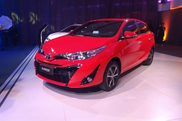 Toyota Yaris lançado no Brasil (Foto: Vagner Aquino / Autoesporte)