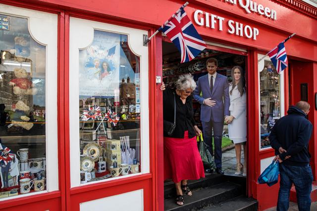Cidade de Windsor, onde fica o Castelo de Windsor e a capela St. George, já teve seu ano mais lucrativo desde 2012, ano das Olimpíadas em Londres (Foto: Getty Images)