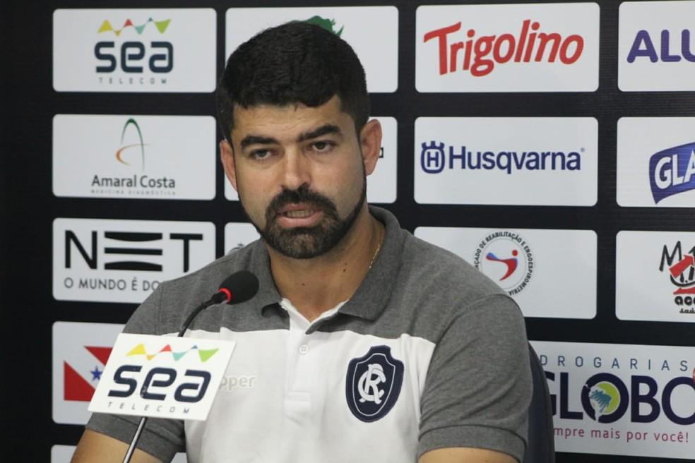 Ari Barros foi executivo de futebol do Remo em 2018 — Foto: Samara Miranda/Remo