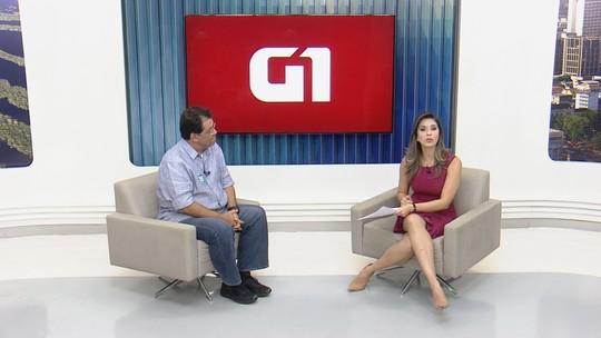 Candidato Eduardo Braga concede entrevista ao G1 Amazonas