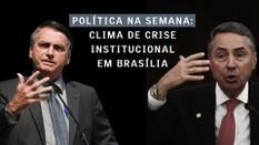 Clima de crise institucional em Brasília