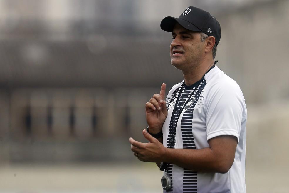 Marcelo Chamusca foi contratado para comandar o time em 2021 — Foto: Vitor Silva/Botafogo