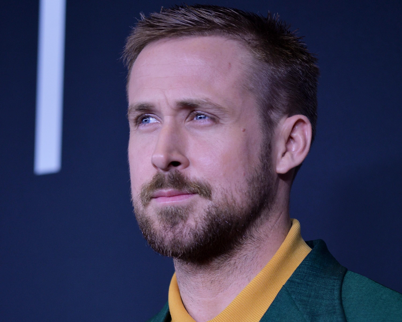 Ryan Gosling durante a estreia de Primeiro Homem (Foto: Getty Images / Shannon Finney )