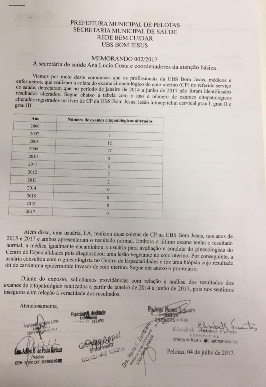 Municípios do Sul do RS avaliam suspender envio de exames a laboratório investigado em Pelotas