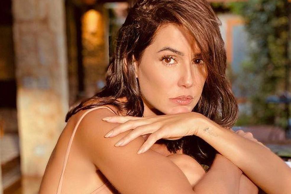 Deborah Secco participou do podcast 'Prazer, Renata', apresentado pela Renata Ceribelli — Foto: Reprodução / Redes Sociais