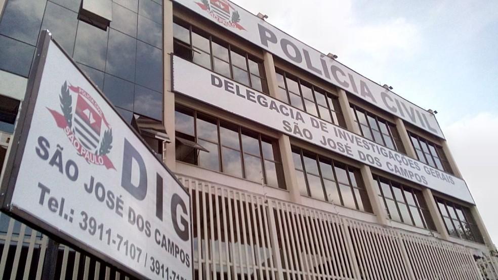Maioria dos policiais denunciados no esquema atuam na Delegacia de Investigações Gerais (DIG) em São José dos Campos (Foto: André Bias/TV Vanguarda)