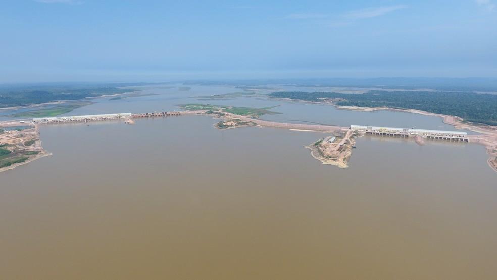 Todas usinas têm alto potencial de destruição, mas baixo risco de estourar — Foto: Usina Hidrelétrica Jirau/Divulgação