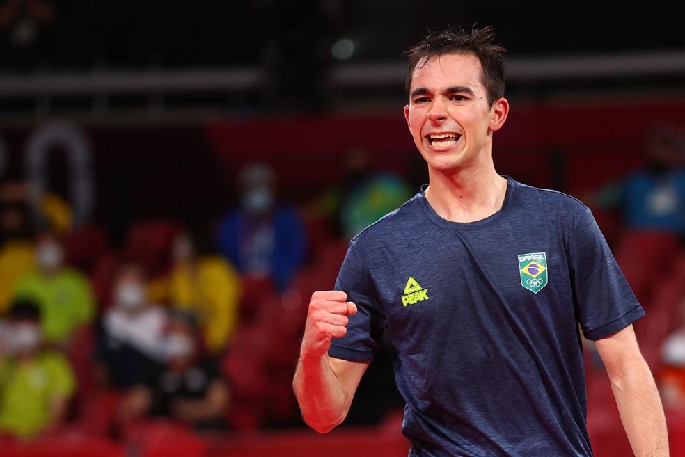 Hugo Calderano — Foto: Luisa Gonzales / Reuters
