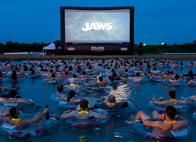 Exibição de 'Tubarão' em Austin