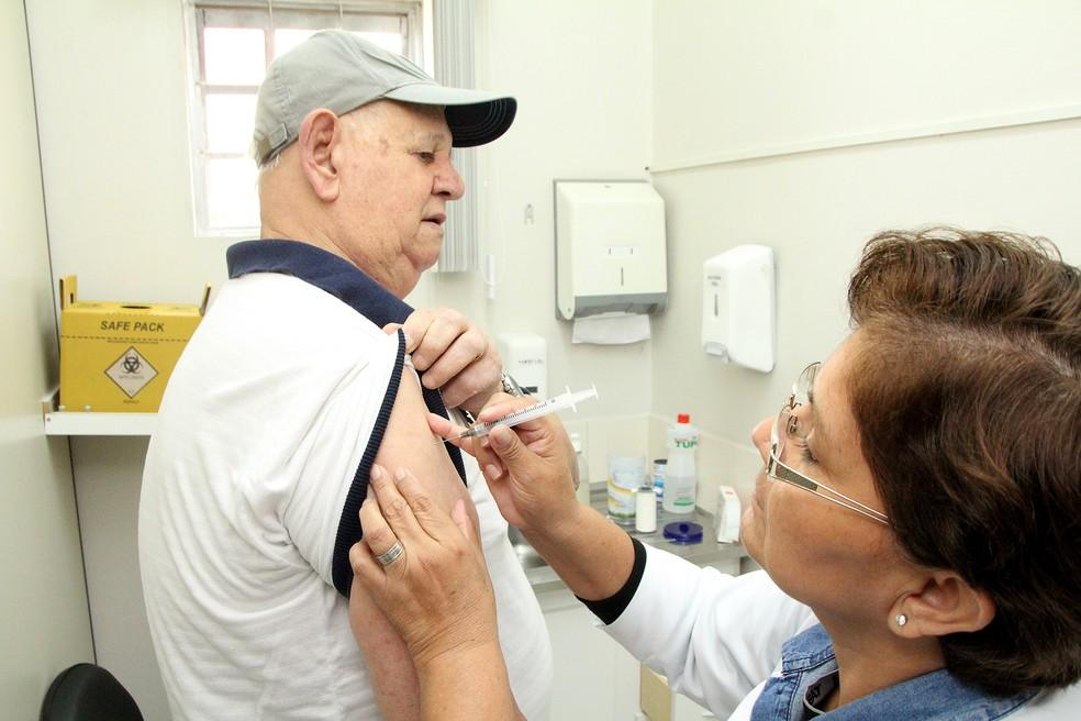 Campanha de vacinação ganha abrangência em Valinhos (SP) — Foto: Reprodução EPTV