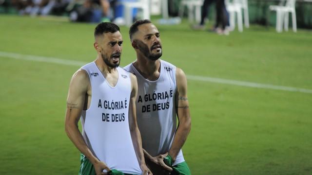 Anderson Leite e Anselmo Ramon comemoram o título