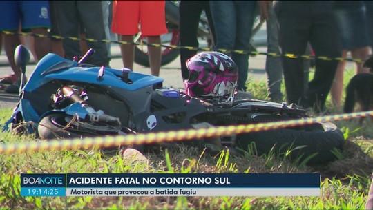 Garupa de moto morre após ser atropelada por caminhão na BR-376, em Curitiba